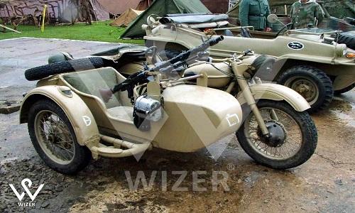 موتورسیکلت ها در میدان جنگ